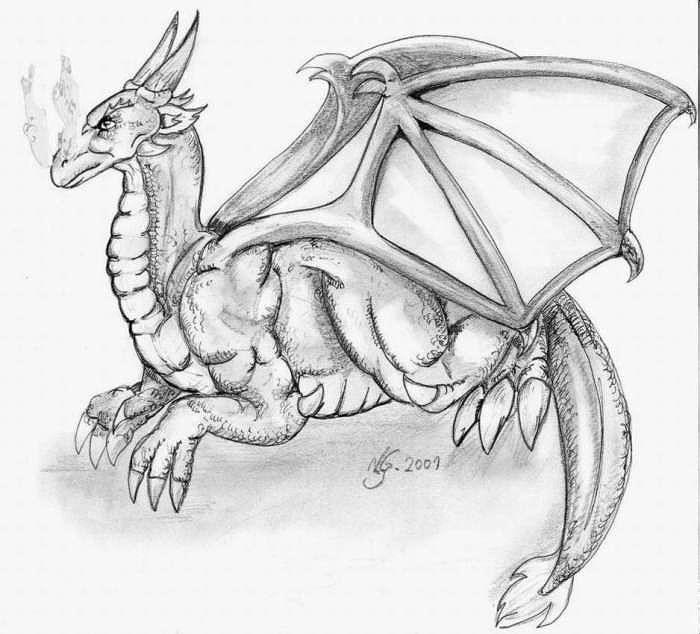 Monster zeichnung